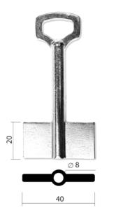 СЕЙФ-2Ф-8х80